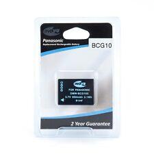 Inov 8 DMW-BCG10E batterie lithium-ion rechargeable pour Panasonic Lumix caméras