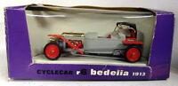 Brumm 1/43 Scale R6 Bedelia 1913 Cyclecar Grey Red Diecast Model Car