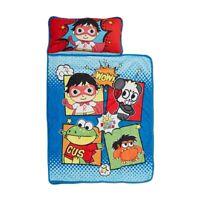 Ryans World Toddler Nap Mat Toddlers Kids Sleep Boy Girl Soft Comfort Child New