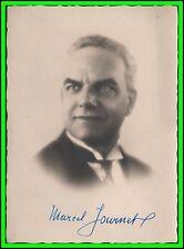 MARCEL JOURNET - French Basso Original PORTRAIT by ROGINSKY - HANDSIGNED 1920's