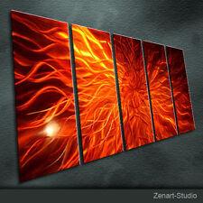 Abstract Modern MetalArt Original Special Painting Indoor-Outdoor Decor-Zenart