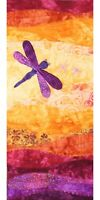 On The Trail Creations Summer Dragonfly Wall Hanging Art Quilt Kit Beret Nelson