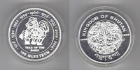 BHUTAN – RARE SILVER PROOF 300 NGULTRUM COIN 1996 YEAR KM#100 YEAR OF HORSE