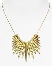 Tribal Statement Women'S Necklace Mkj4507710 New Michael Kors Gold Tone