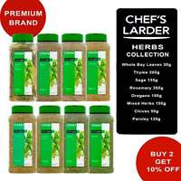 Herbs Rosemary Thyme Oregano Sage Parsley Bay Leaves Chives Mixed Chef's Larder