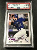 NOLAN ARENADO 2013 TOPPS UPDATE #US259 ROOKIE RC PSA 10 GEM CARDINALS (6007)