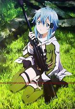 Sword Art Online II 2 / K ON series poster promo anime bikini girl official