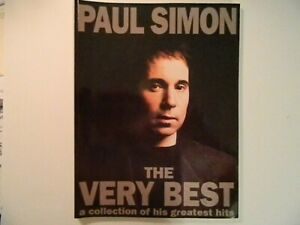 """Music songbook: Paul Simon, """"The Very Best"""" a Collection of his Greatest Hits"""