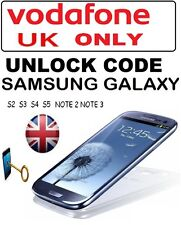 Samsung Galaxy J1 J5 J7 A3 A5 A7 A8 Core Prime Alpha Unlock Code Vodafone UK