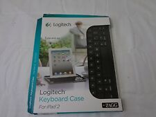 Vintage Logitech Bluetooth Keyboard Case for iPad 2