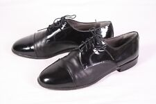 H8 Carrara Herren Smoking Schuhe Lack Leder schwarz Gr. 42 Schnürschuhe