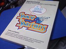 Vintage INTELLIVISION SPACE SPARTANS Video Game Cartridge VOICE SYN ORIG PKG