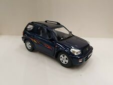 Toyota RAV4 blue kinsmart Toy car model 1/32 scale diecast metal open doors