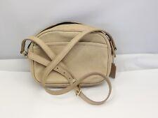 Vintage Cross Body Beige Coach shoulder bag