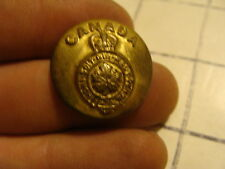 Original Vintage button: Canadian General Service button #1