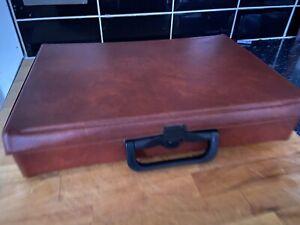 Cassette Storage Case Brown