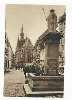 1147 Alt St.- Wendel Blick auf den Dom am Wendelinsbrunnen