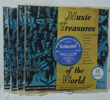 Music Treasures of the World, 4 x LP Classical Music Set, VG+/VG+/NM