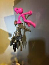 Pink key stik girl neodymium fridge magnetic key holder hook Peter Pauper Press