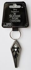 Nightmare Before Christmas - Jack Skellington Coffin Soft Touch Keychain/Keyring