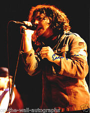 EDDIE VEDDER PEARL JAM HAND SIGNED AUTOGRAPHED RARE PHOTO! WITH PROOF + C.O.A.!