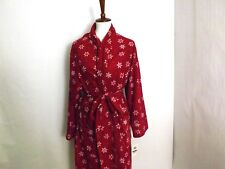 Charter Club Women's Fleece Robe big snowflakes Size 2XL Style #861018R255