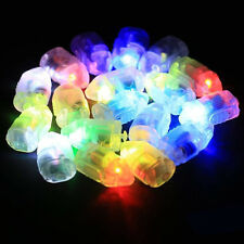10pcs LED Balloons Lights For Paper Lanterns Glow in the Dark Party Wedding Deco