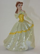 "Disney Beauty & the Beast Princess Belle 6 1/4"" Ceramic Porcelain Figure"