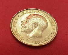 More details for half sovereign - 1925 - 22ct gold - 4 grams