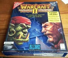 Warcraft II Tides of Darkness Mac/Power Mac, PC  Complete BIG BOX
