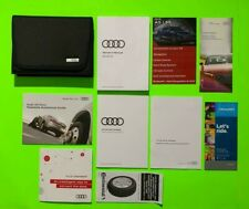 2018 Audi A5 Factory Owners Manual Set & Case *Oem*