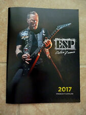 ESP Product Catalog James Hetfield Metallica NAMM 2017 Mag Magazine