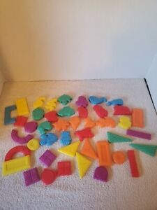 Vintage Fisher Price Magnetic Shapes And Figures