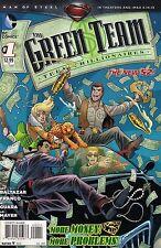 THE GREEN TEAM # 1<>DC COMICS<>2013<>vf+