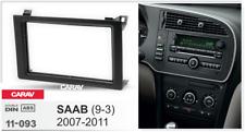 CARAV 11-093 Car Radio Stereo Face Facia Surround Trim Kit for SAAB 9-3 2007-11