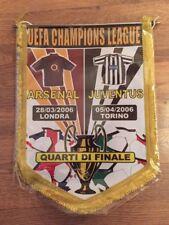 Italian Pennant: Original Arsenal V Juventus 05/04/06 Quarter Final Champ League