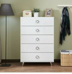 Acme Furniture Elms Chest in White Finish