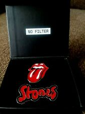 2 2019 ROLLING STONES NO FILTER METAL PINS with Stud Backs