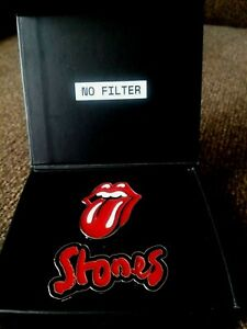 2019 ROLLING STONES NO FILTER METAL PINS with Stud Backs .LIMITED EDITION