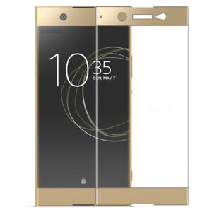 For Sony Xperia XZ1 Full Cover Screen Protector Tempered Glass Protective Film
