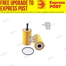 Wesfil Oil Filter WCO43 fits Citroen C3 1.6 16V,1.6