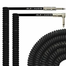 Curly Bass Guitar Cords Amp Cables for Electric Guitar Cable Amplifier - 20 Foot