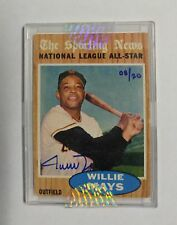 2004 Topps Originals 1962 Topps All-Star #395 Willie Mays Auto #/20