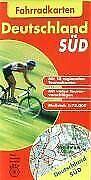 10 Fahrradkarten Deutschland Süd 1 : 75 000 | Buch | Zustand gut