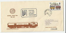 RAILWAY :1980 CALEDONIAN T.P.O. DAY  UP/1.on Didcot Railway Centre cover