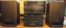 Minicadena stereo compacto Panasonic CA-SH32. CD Cassette Radio AM/FM  Altavoces
