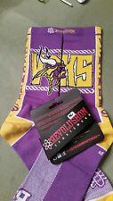 """Minnesota Viking """"VIKS"""" socks (Men's, XS, Purple)"""