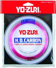 Yo-Zuri HD Carbon Disappearing Pink Fluorocarbon Leader 50 LB 100yds