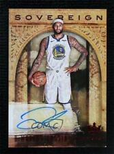 2018-19 Panini Court Kings Sovereign Signatures Ruby 10/15 DeMarcus Cousins Auto