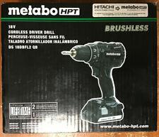 Metabo HPT Hitachi DS18DBFL2 QB 18V Cordless Driver Drill New in Box